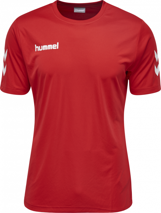 47f219a37be VSH clothing and equipment - Hummel Core Polyester Tee › True Red ...