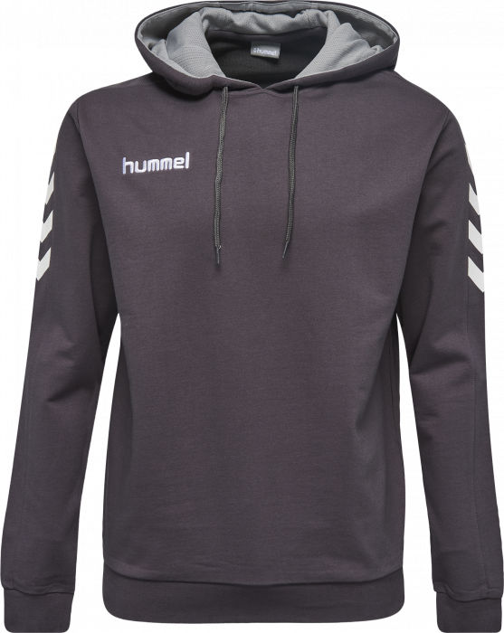 ae73fe7b281 Vestuário e equipamento VSH - Hummel Core Cotton Hoodie › Asphalt ...